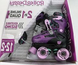 Roller Derby Lomond Girls Adjustable Inline-Quad Combo Skate