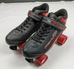 Roller Derby M4 Viper Red And Black Speed Quad Skates Mens S