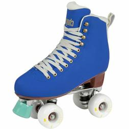 melrose cobalt indoor outdoor quad roller skates