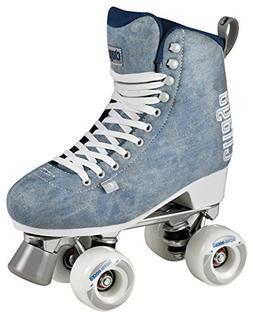 Chaya Melrose Deluxe Denim Quad Indoor/Outdoor Roller Skates