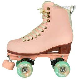 Chaya Melrose Elite Dusty Rose Quad Roller Skates Womens 7.0