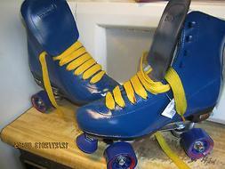 Men Blue & Yellow  size 9/ SIZ10  Women   Roller Skates, BE
