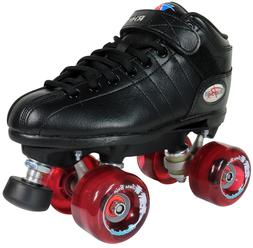 Men Roller Skates - Riedell R3 with Pink Boardwalk Outdoor W