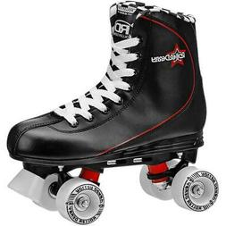 Roller Derby Men's Roller Star 600 Quad Skates Black/Red