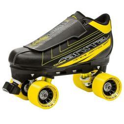 Roller Derby Men's Sting 5500 Quad Skate 6, Black/Yellow