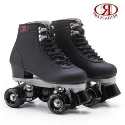 Men Women Roller Double Two Line Skates Skating Unisex Adult