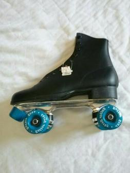 mens vintage roller skates leather wheels size