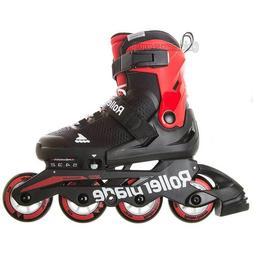 Rollerblade Microblade 72mm Kids Recreational Inline Skate A