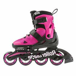 Rollerblade Microblade Girls Inline Skates - Pink/Bubble Gum