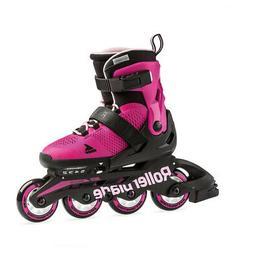 Rollerblade Microblade Junior 4 Wheel Inline Skates | Adjust