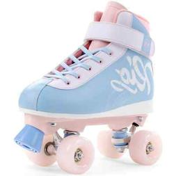 Rio Roller Milkshake Quad Skates - Cotton Candy - Size - UK