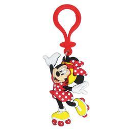 Disney Minnie With Roller Skates Soft Touch PVC Key ring Key