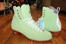 Moxi Jack roller skate boots Honeydew Green  Skate Ratz is a