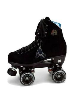 Moxi Lolly Black Suede Skates size 8  Brand New.