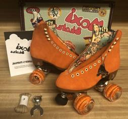 Moxi Lolly Roller Skates Clementine Size 5!
