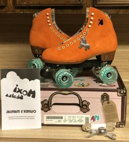 Moxi Lolly Roller Skates Clementine Size 9