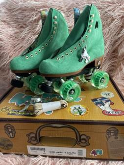 Moxi Lolly Roller Skates Green Apple New in Box, Size 5