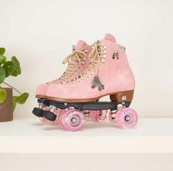 Moxi Lolly Roller Skates Strawberry Pink Brand New Size 8