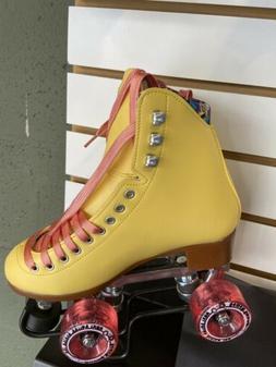 Moxi Roller Skates Beach Bunny Strw Lemon Size 5