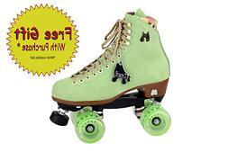 Moxi Roller Skates - Honeydew Green Lolly outdoor Roller ska