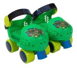 Mutant Ninja Turtles Kid Rollerskates with Knee Pads Junior