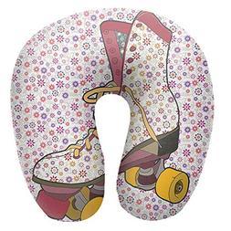 KATONGHUJHJH Travel Neck Pillow Headrest & Neck Support Wash