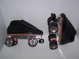 NEW RIEDELL 395 LABEDA PRO-LINE LEATHER ROLLER SKATES MENS S