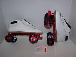 NEW RIEDELL 395 POWERTRAC CUSTOM LEATHER ROLLER SKATES MENS