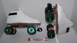 NEW RIEDELL 595 LABEDA PRO-LINE CUSTOM LEATHER ROLLER SKATES