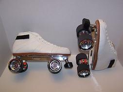 NEW RIEDELL 595 LABEDA PRO-LINE LEATHER ROLLER SKATES MENS S