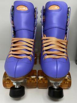 NEW! Moxi Beach Bunny roller skates size 8 Periwinkle