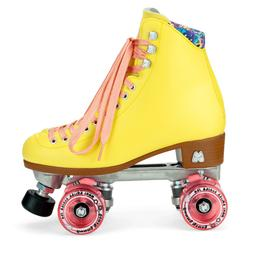 NEW Moxi Beach Bunny Roller Skates Size 9  Strawberry Lemona