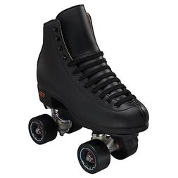 New Black Riedell 111 Boost Mens Quad Rhythm Jam Roller Skat