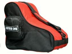 New! Black & Red EPIC Premium Quad Speed Roller Skate Bag