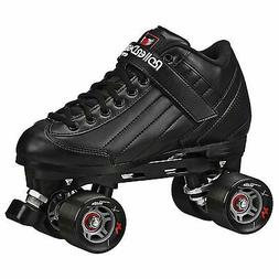 New Black Roller Skates - Roller Derby Stomp 5 Elite Men Siz