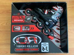 NEW Roller Derby Blaze Youth Adjustable Inline Skate Size 3-