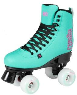 New Chaya Bliss Teal & Black Adjustable Quad Indoor / Outdoo