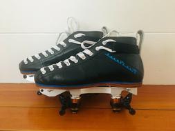 NEW Riedell Blue Streak Pro Roller Skates w/ ReactorNeo Alum