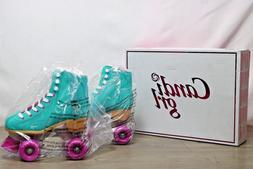 New Candi Girl Sabina Mint Roller Skates Girls Ladies Size 4