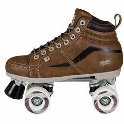 New! Chaya Vintage Brown NEAT Quad Roller Skates - Vegan