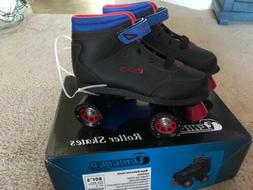 NEW Chicago Sidewalk Roller Skates - Black Boys Size 5 CRS10