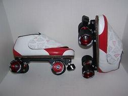 NEW VANILLA DIAMOND WALKER CUSTOM LEATHER ROLLER SKATES MENS