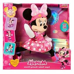 New DISNEY JR. Super Roller-Skating Minnie Mouse Toy Battery