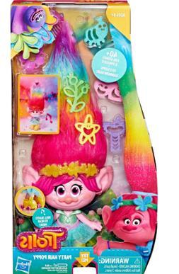 NEW DreamWorks Party Hair Poppy Roller Skating Musical Troll