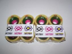 NEW ATOM G-RODS 62MMX42MM 93A ROLLER SKATE QUAD SPEED WHEELS