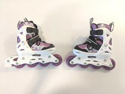 NEW Roller Derby Stryde Girl's Adjustable Inline Skates, Sma