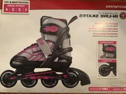 New SCHWINN Inline Skates Girls Youth Roller Blades Size 5-8