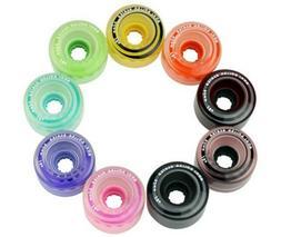 New! Moxi Juicy & Gummy Outdoor Quad Roller Skate Wheels - 8