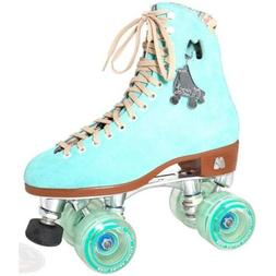 NEW! Moxi Lolly Floss Blue Size 5 W/ Sea Foam Gummy Wheels!!