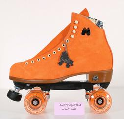 NEW Moxi Lolly Roller Skates Moxi Size 10  Clementine Suede